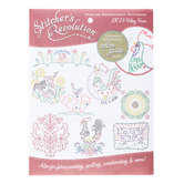 Folksy Farm Iron-On Embroidery Patterns